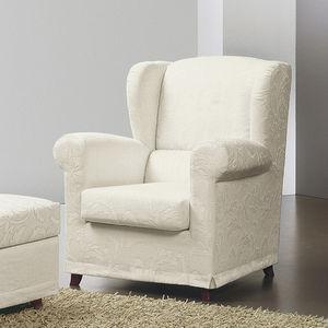 sillón clásico / de tejido / con reposacabezas / con reposapiés