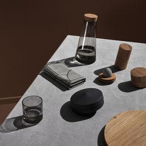 servicio de mesa de madera