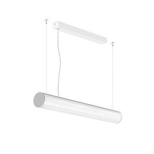 luminaria suspendida / LED / tubular / de aluminio extruido