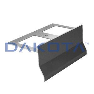 perfil de acabado de aluminio / para baldosas / para ángulo exterior / de canto recto