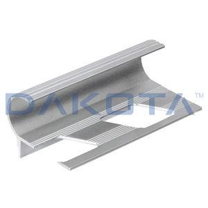 perfil de acabado de aluminio / para ángulo interior / mamperlán