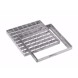 rejilla de drenaje de acero galvanizado / de acero electrosoldado / para espacio público