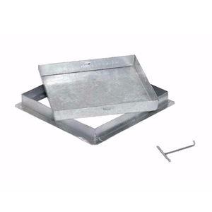 tapadera de inspección de acero galvanizado