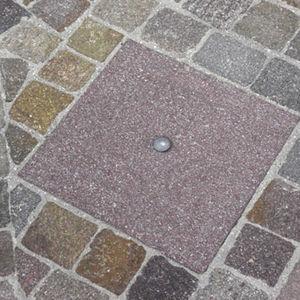 tapadera de inspección de piedra natural / cuadrada
