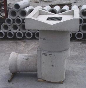 tapadera de inspección de hormigón armado / cuadrada / prefabricada