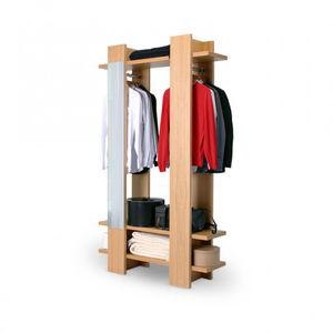 vestidor contemporáneo / de roble