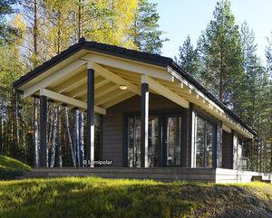 edificio prefabricado / de madera laminada encolada / para centro sanitario / contemporáneo