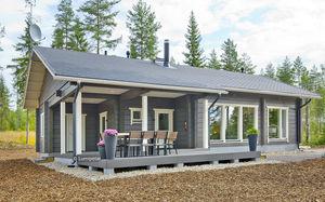 casa prefabricada / clásica / con armazón de madera / ecológica