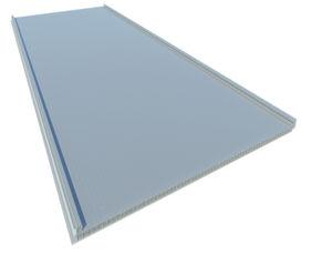 panel de policarbonato de nido de abeja / para techado / translúcido