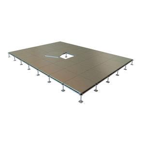 estructura para suelo técnico de acero