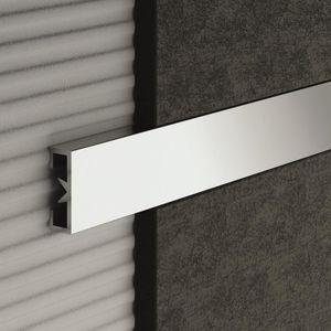 listel de aluminio / de acero inoxidable / de PVC