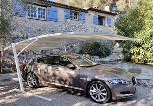 cubierta para aparcamiento de acero