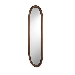 espejo de pared / contemporáneo / ovalado / para hotel