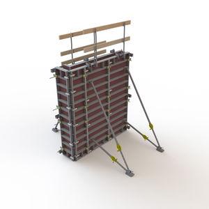encofrado modular / marco / de aluminio / de contrachapado