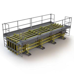 encofrado modular / de acero / para postes / para vigas