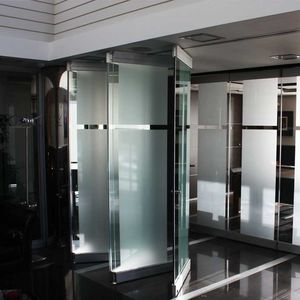 tabique plegable / de aluminio / de vidrio / de uso profesional