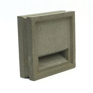 bloque de hormigón hueco / decorativo / para muro / para tabique