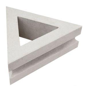 bloque de hormigón hueco / para valla de jardín / para fachada / para muro
