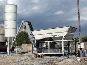 planta de hormigón fija / automática / autónoma