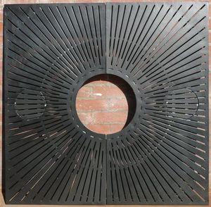 cubrealcorques cuadrado / redondo / de hierro fundido / de aluminio fundido