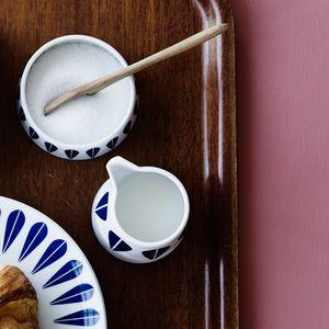azucarero de porcelana