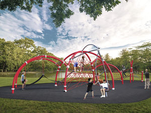 estación de juego para parque infantil