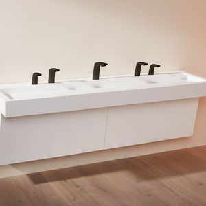 grifo secamanos para lavabo