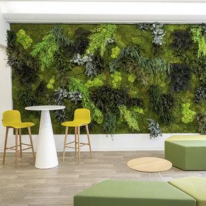 jardín vertical estabilizado