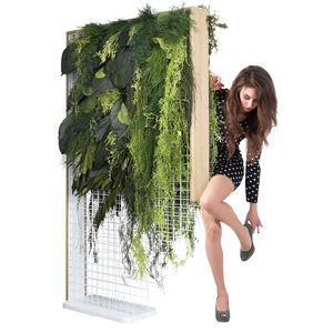 separador de espacios de plantas estabilizadas / de madera / de hierro / para el sector servicios