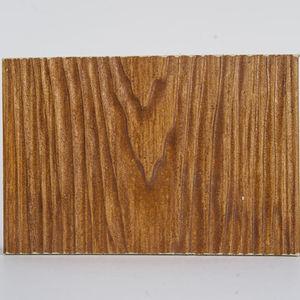 fachaleta de fibrocemento / de exterior / texturada / aspecto madera