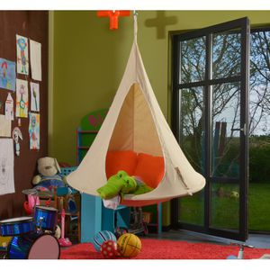 sillón contemporáneo / de tejido / para niños / suspendido