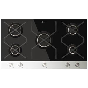 placa de cocina de gas / de hierro fundido / 5 fuegos