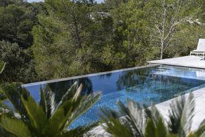 piscina de bloques de encofrado de polímero