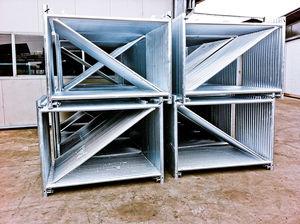 andamio de acero galvanizado / de grand altura / universal