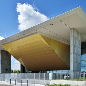 panel de material compuesto de revestimiento / de aluminio / para exteriores / para revestimiento de fachada