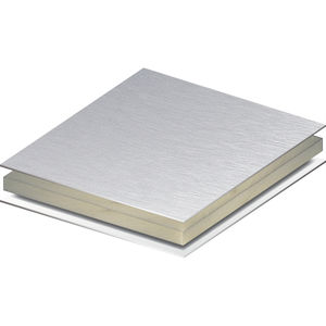 panel de construcción de material compuesto