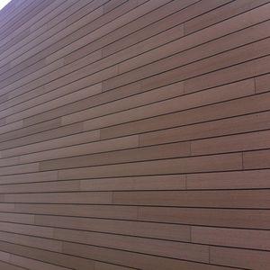 fachada ventilada de madera