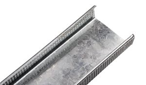 perfil de acero galvanizado / en U / para tabique