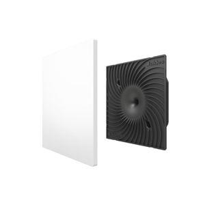 rejilla de ventilación de plástico / cuadrada / acústica / ajustable