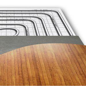 calefacción por suelo radiante de agua caliente