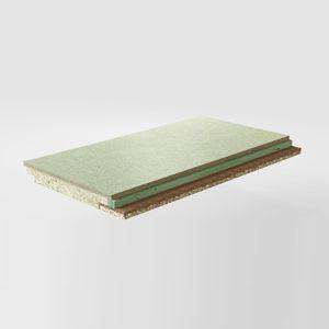 aislante termoacústico / de lana de roca / de fibra de madera / de fibra de coco