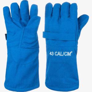 guante de manipulación / de protección térmica / contra los arcos eléctricos / de tejido