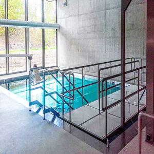 piscina de chapa / autoportante / enterrada / sobre suelo