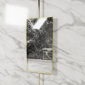 espejo de techo / giratorio / contemporáneo / rectangular