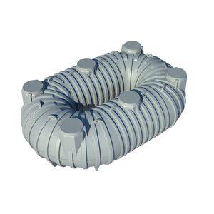 tanque flexible / de almacenamiento de agua / de plástico