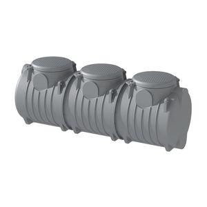 tanque enterrado / de agua de lluvia / de polietileno
