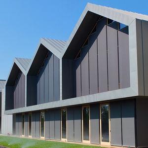 revestimiento de fachada aspecto plano
