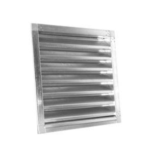 rejilla de ventilación de acero galvanizado / cuadrada / para el suministro y el retorno de aire