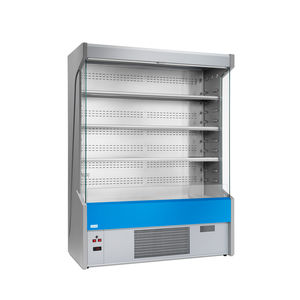 vitrina refrigerada de estantes