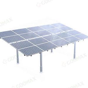 estructura de soporte en suelo / para sistema autónomo / para aplicaciones fotovoltaicas